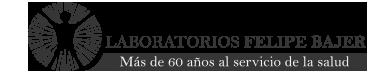 Logo de marca Bajer Laboratorio farmacéutico